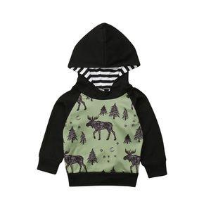 Other - Moose print sweatshirt sweater hoodie long sleeve